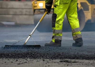 This usually involves removing and replacing the existing road surface