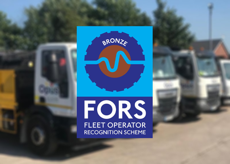 FORS Bronze accredited civil engineers north west england